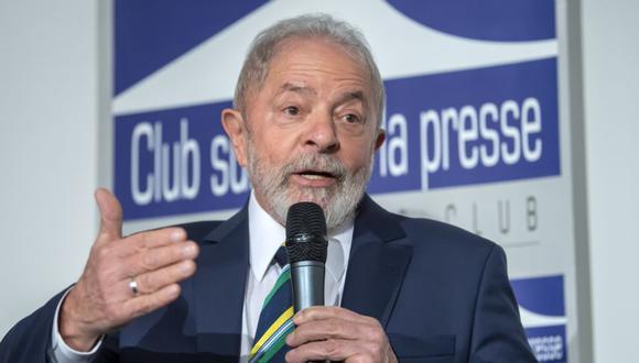 Lula recuerda el compromiso de Maradona con la soberanía latinoamericana. (EFE/MARTIAL TREZZINI