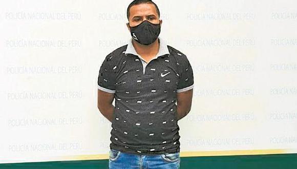 Extranjero fue detenido tras embestir a un policía con su mototaxi. (PNP)