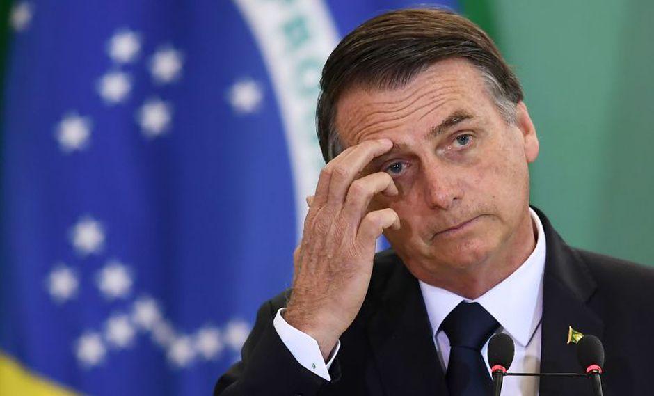 Bolsonaro divulgó mensaje a través de Twitter. (Foto: AFP)