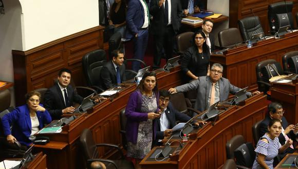 Congresistas expresaron posiciones a favor y en contra de la creación de una comisión especial. (Foto: Alessandro Currarino / GEC)