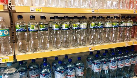 El agua embotellada y los energizantes lideraronlas importaciones peruanas de bebidas no alcohólicas en el último verano, según la CCL. (Foto: GEC)