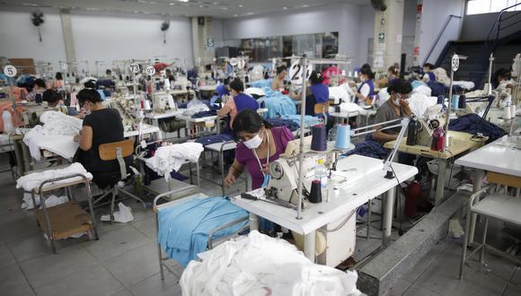 El presidente de la SNI indicó que el sector textil debe apuntar con más fuerza al extranjero. (Foto: GEC)