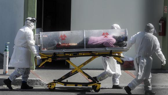 México es el decimotercer país del mundo en cuanto a número de contagios. (Foto: PEDRO PARDO / AFP)