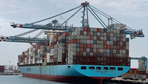 El Perú lleva su diversos productos a los mercados del mundo. La vía marítima sigue siendo la más importante para el comercio internacional. (GEC)