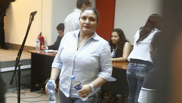 El próximo martes 10 de diciembre, la Primera Sala Suprema Penal Transitoria tomará la decisión si dejar o no en libertad a la cantante Abencia Meza.  (Foto: Archivo GEC)