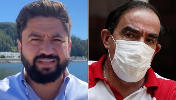 Imagen del alcalde de Talcahuano en Chile, Henry Campos. El funcionario se pronunció sobre el pedido del candidato presidencial peruano Yonhy Lescano. (Captura de video/Twitter - Reuters).