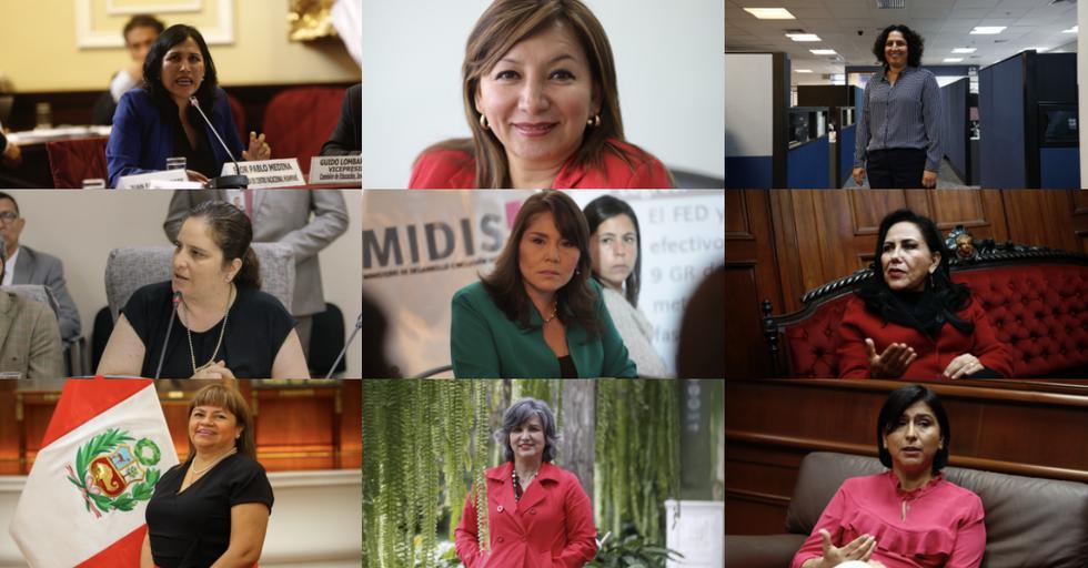 De 19 miembros del gabinete ministerial, nueve son mujeres. (Hugo Pérez - GEC)