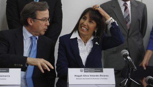 Magali Silva niega irregularidades. (Nancy Dueñas)