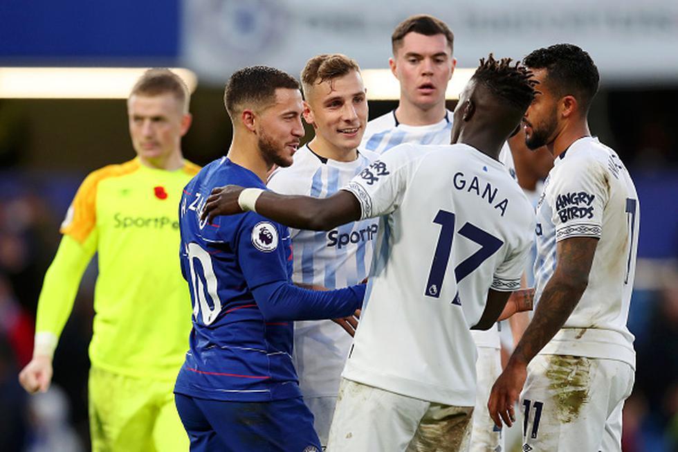 Chelsea igualó sin goles contra Everton por la Premier League. (Getty)