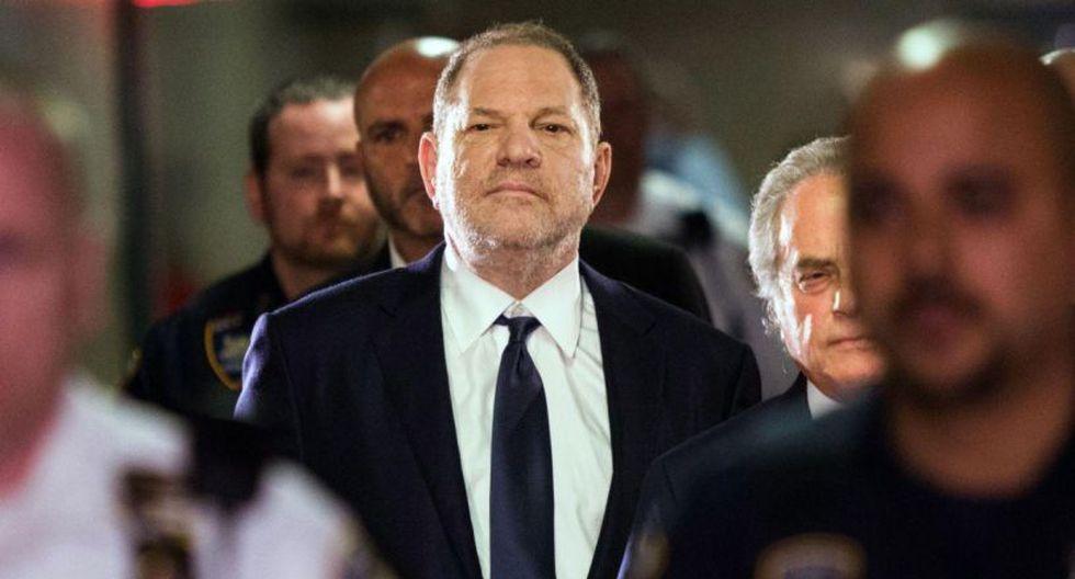 Las activistas del movimiento #MeToo esperan que Harvey Weinstein sea juzgado, condenado y enviado a prisión tras su arresto y numerosas acusaciones.(Foto: AFP)