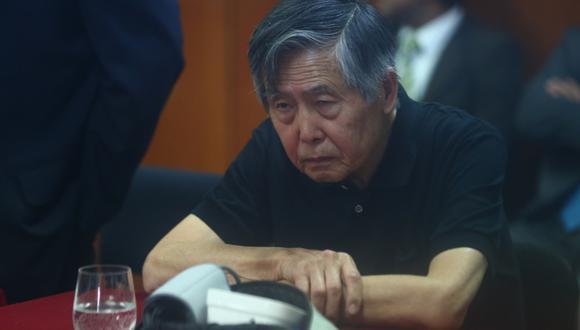El expresidente Alberto Fujimori cumple una condena de 25 años de prisión por las matanzas de La Cantuta y Barrios Altos. (Foto: GEC)