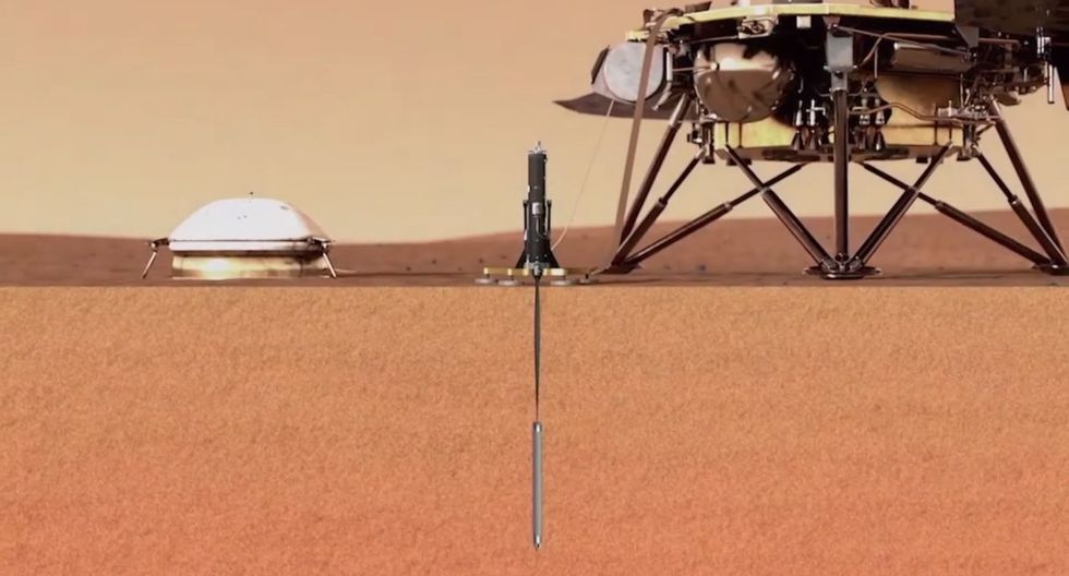 NASA: Primer 'martemoto' es registrado por la sonda InSight en la superficie de Marte. (NASA)