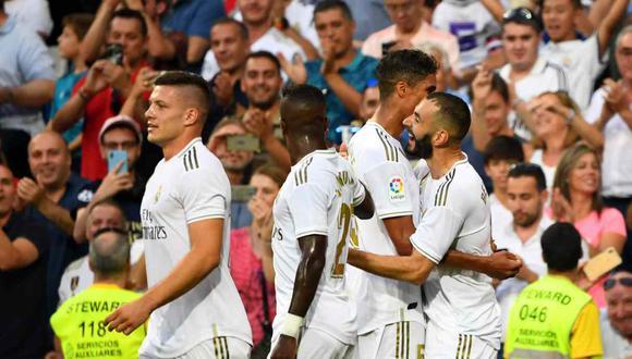 Real Madrid vs. Levante se miden por la cuarta fecha de la Liga Santander. (Foto: AFP)