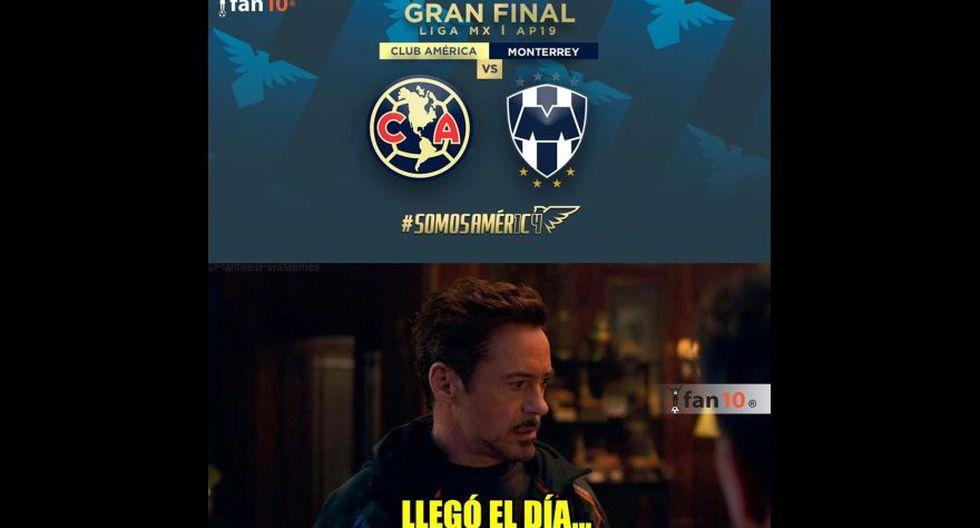Los mejores memes en la previa al América vs. Monterrey que definirá al campeón del Apertura de Liga MX. (Foto: Facebook)