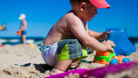 ¡Cuidado! Quemadura solar en la niñez podría generar cáncer de piel (Foto: Pixabay)