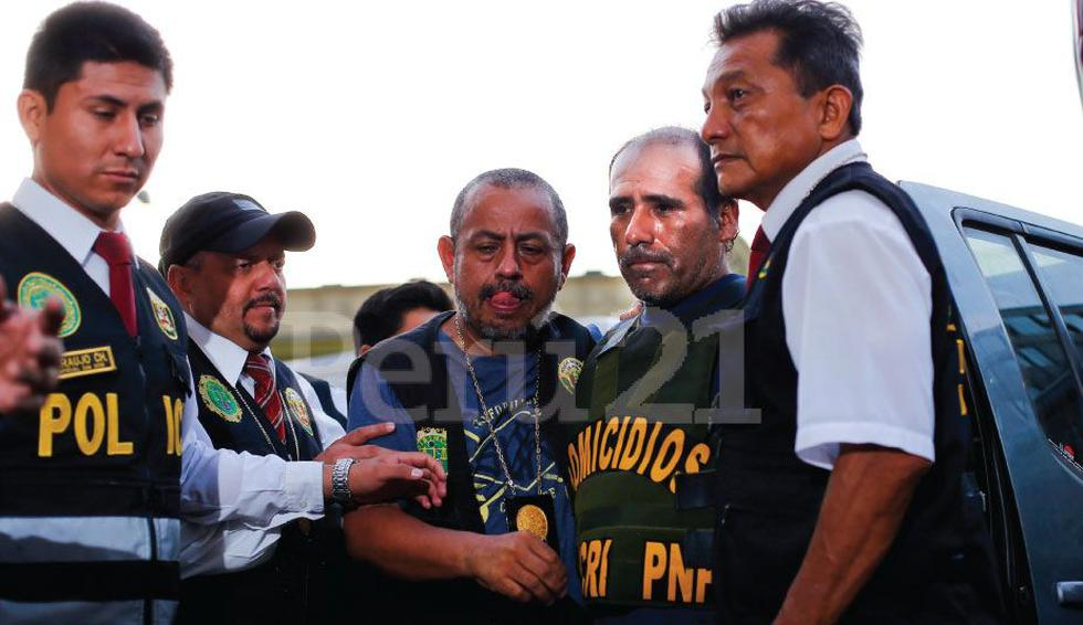 Presunto asesino César Alva Mendoza habló en la comisaría La Tinguiña en Ica. (Luis Centurión)