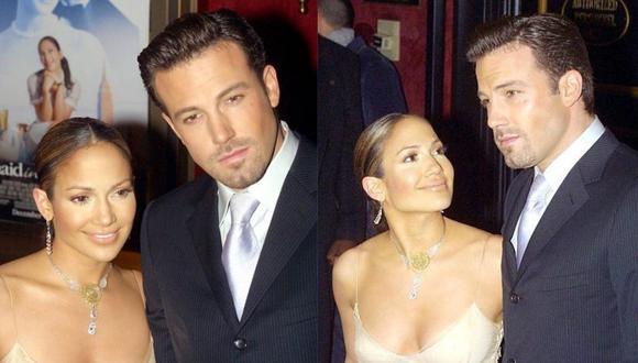 Jennifer Lopez y Ben Affleck terminaron 2004 cuando eran una de las parejas más populares. (Foto: AFP)