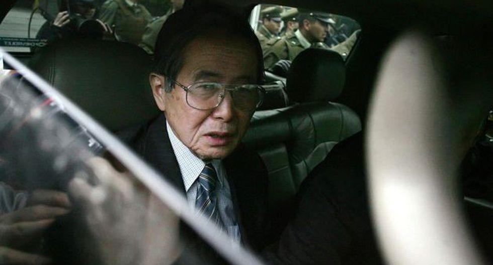 Fujimori fue vacado por incapacidad moral en noviembre del 2000.