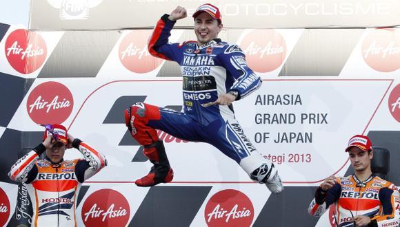 Lorenzo ganó GP de Japón. (AP)