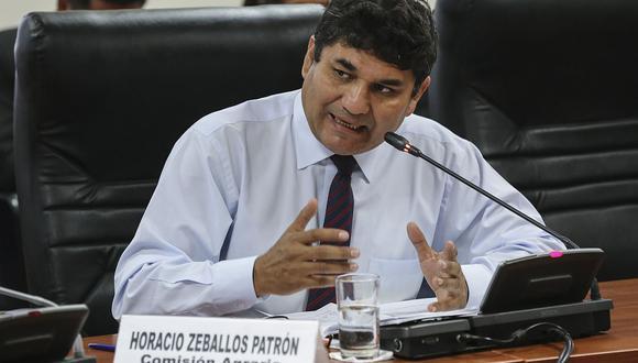 Horacio Zeballos fue uno de los cinco integrantes de Nuevo Perú que renunció luego de la alianza con Perú Libre y Juntos por el Perú. (Foto: Congreso)