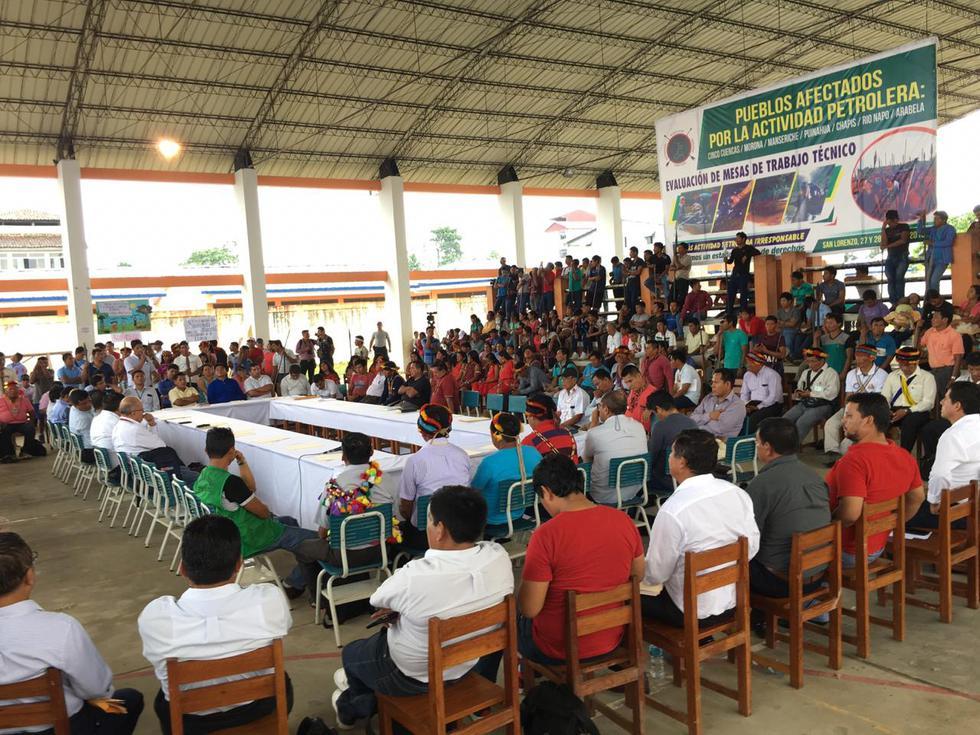 Reunión entre nativos y el Ejecutivo no se realizó. (Perú21)