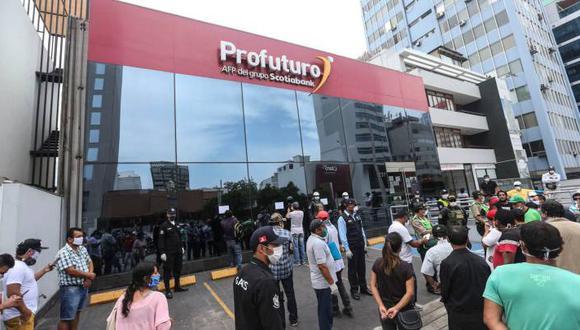 Los afiliados a la AFP podrán presentar su solicitud de forma remota, virtual o presencial (Foto: Andina)
