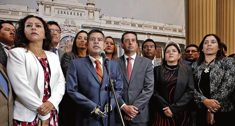 Galarreta no recibió apoyo de sus colegas de bancada. (Piko Tamashiro/Perú21)