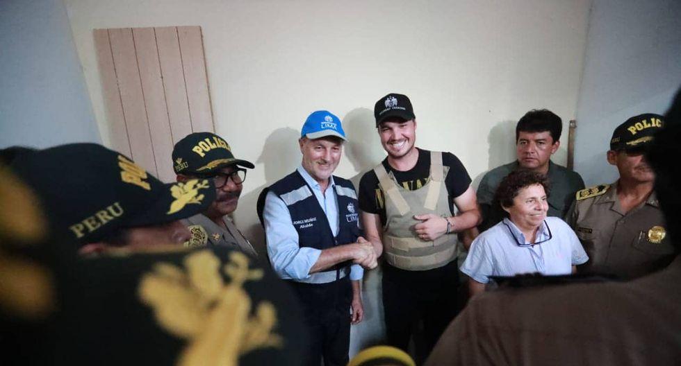 El alcalde de Lima se refirió al protagonismo que presuntamente intenta quitarle George Forsyth. (Foto: Lino Chipana/GEC)