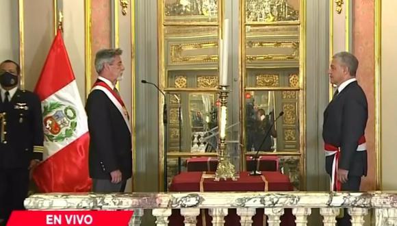 José Elice jura como nuevo ministro del Interior. (Captura)