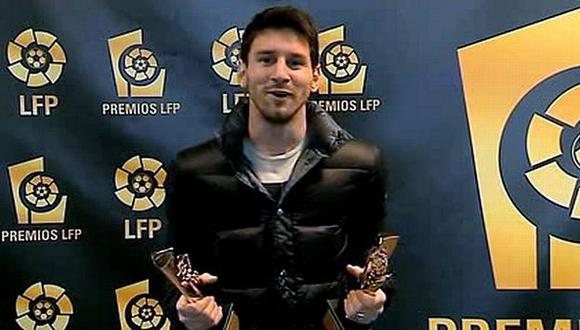 Mejor jugador y delantero. (Captura de YouTube)