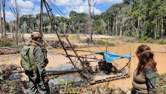 Ministerio Público hará seguimiento de las acciones del Gobierno frente a la minería ilegal y el desarrollo del proceso de formalización. (FOTO: GEC)