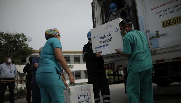 """""""Sin los privados será muy difícil que el Gobierno cumpla la meta de vacunar entre 10 y 15 millones de peruanos hasta este 28 de julio"""", consideró la CCL. (Foto: Anthony Niño de Guzman / GEC)"""