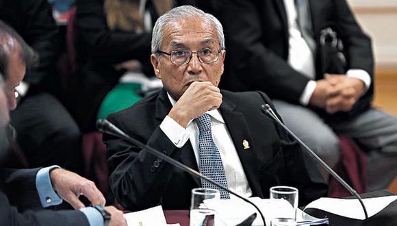 Pedro Chávarry, ex fiscal de la Nación. (Foto: Renzo Salazar / GEC)