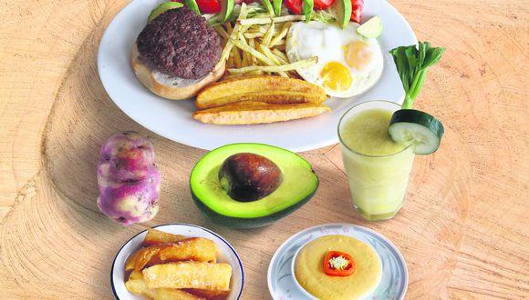 Hamburguesa casera de don Cucho. (Perú21)
