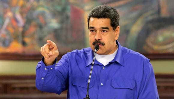 El mandatario de Venezuela, Nicolás Maduro. (Foto: AFP)