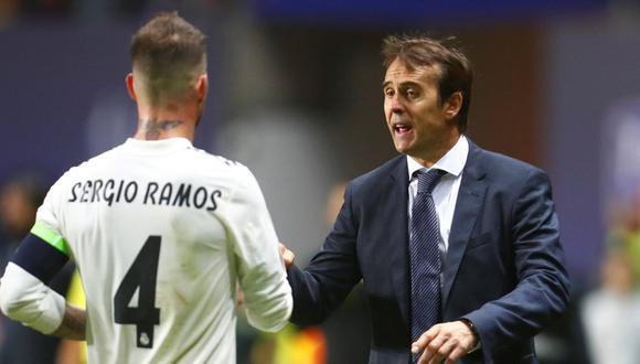 Julen Lopetegui llegó al Real Madrid esta temporada. (Foto: Reuters)