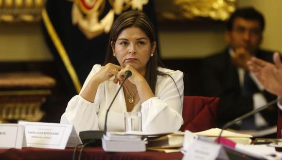 Congresista Karina Beteta le toma la posta a Cecilia Chacón en presidencia de Comisión de Presupuesto (Mario Zapata)