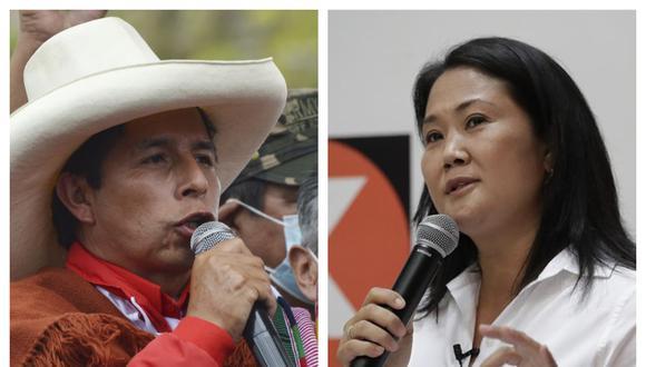 Pedro Castillo y Keiko Fujimori debatirían propuestas en Chota. (Fotos: Andina)
