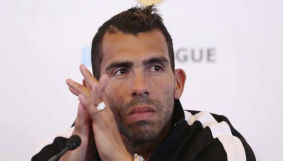 Tevez integró una lista de 35 jugadores preseleccionados pero no llegó a estar en la lista final. (EFE)
