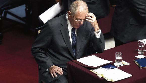 Una más. El ex mandatario podría afrontar una nueva pesquisa en el ámbito del Ministerio Público. (CésarCampos/Perú21)