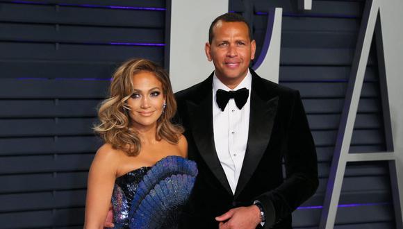 La actriz Jennifer Lopez y el exjugador de béisbol Alex Rodríguez están a la espera de poder realizar su boda. (Foto: AFP)