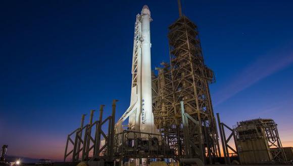 NASA: SpaceX suspende lanzamiento de cohete minutos antes de su despegue. (EFE)