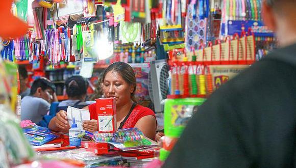 La campaña escolar podría representar el 30% de las ventas anuales del sector de las mypes, dijo la CCL. (Foto: GEC)