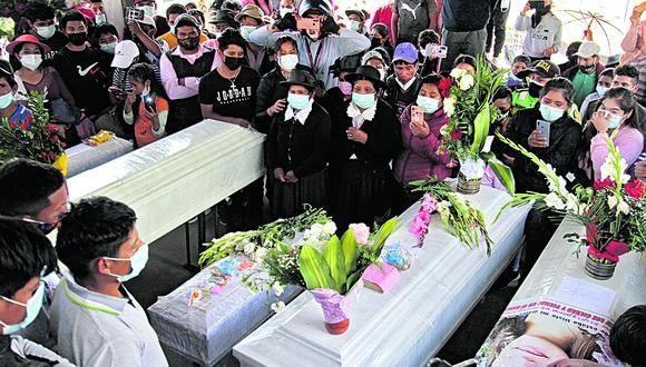 Sendero Luminoso asesinó a 16 personas, entre ellas cuatro menores de edad, en San Miguel del Ene el pasado domingo 23 de mayo. (photo.gec)
