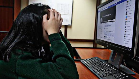 Las menores entrevistadas afirmaron que sufren un mayor acoso en las redes sociales cuando tienen entre 12 y 18 años de edad. (Foto referencial: GEC)