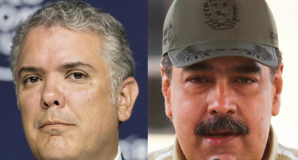Imagen de los presidentes Iván Duque y Nicolás Maduro. (EFE/ Alessandro Della Valle - Prensa De Miraflores).