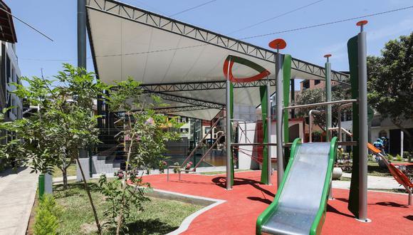 El inicio de la obra comenzó en noviembre del 2020 y culminó a inicios de febrero del presente año. La Municipalidad de Lima se comprometió a remodelar otros 9 parques del distrito de Cercado (Foto: MML)
