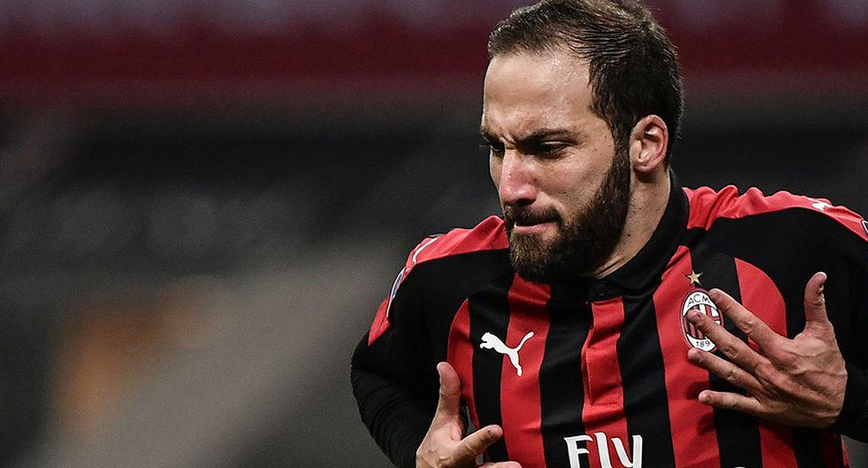 Juventus aceptó ceder a Gonzalo Higuaín al Chelsea por 6 meses. (Foto: AFP)