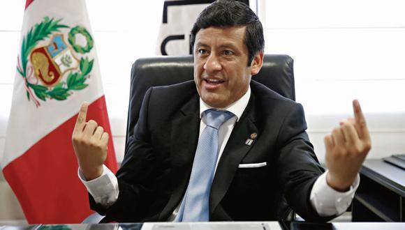 Hermanito. Guido Aguila renunció al Consejo Nacional de la Magistratura tras estar implicado en los audios de la vergüenza. (USI)