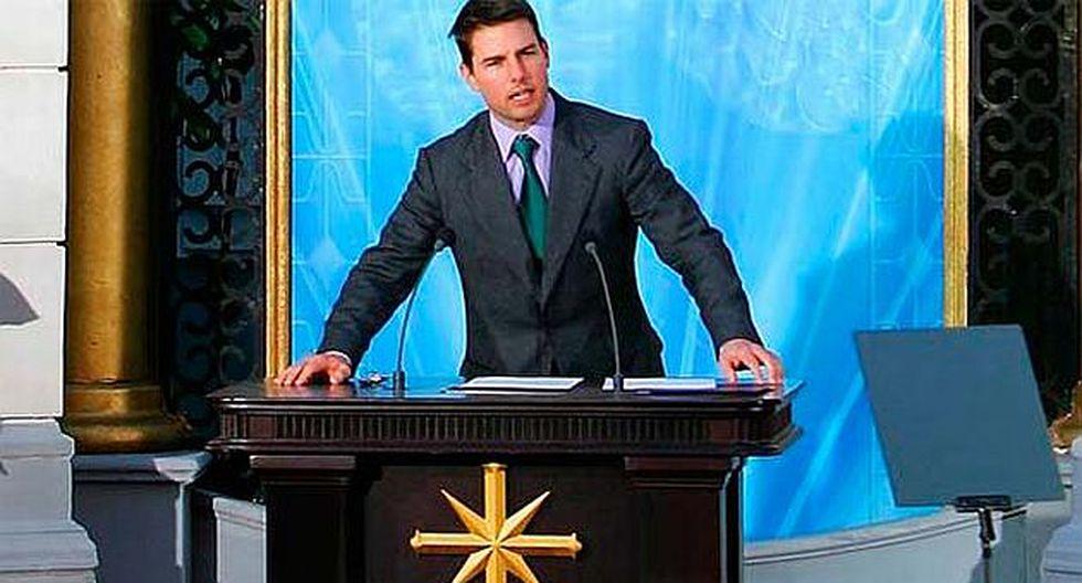 Tom Cruise es uno de los rostros más conocidos de la Cienciología. (Captura Youtube)